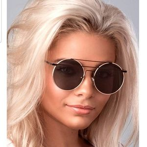 ROUND Sunglasses Sunnies On Trend Blogger Fave